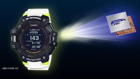 瑞萨电子推出新款G-SHOCK手表的主控制器