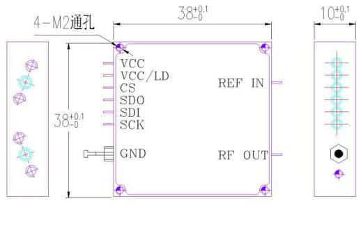 ZXB-TFS14-15頻率綜合器的中文資料詳細說明