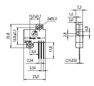 关于LCD投影仪传感器产品特点