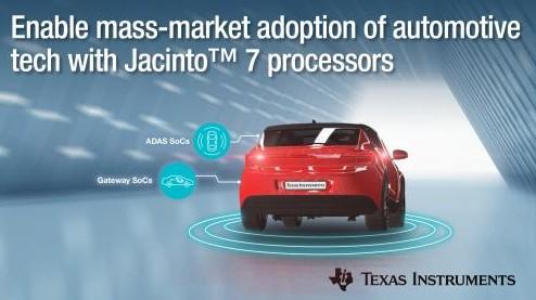 新型 Jacinto™处理器支持 ASIL-D ...
