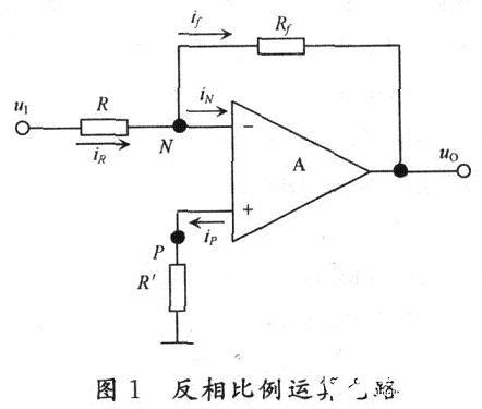 利用齐次性定理对基本运算电路进行研究分析