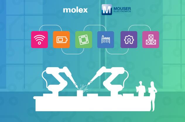 贸泽电子与Molex联手打造专注于工业物联网的全...