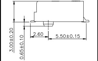 M.2连接器67PIN高H3.2MM硬盘接口的规格原理图免费下载