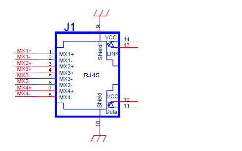 POE EMC设计标准电路的原理图免费下载