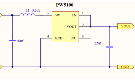 PW5100干电池升压芯片的简介和电路图免费下载