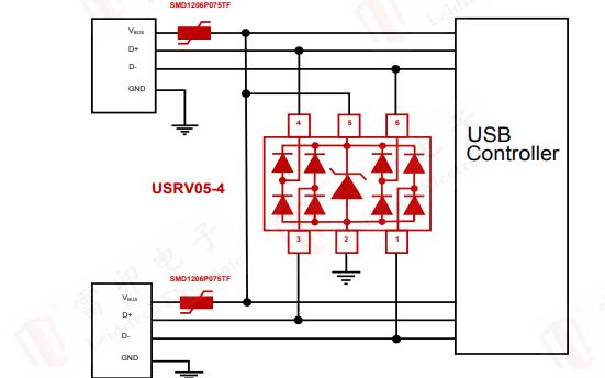EMC电路保护方案的原理图合集