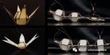 研发人员利用液晶弹性体设计了一种自动折叠机器人