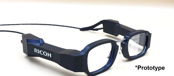 日本理光推出重49克的輕量級AR眼鏡