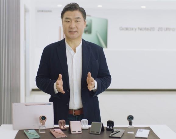"""三星Galaxy Note20系列智能手机构筑""""..."""