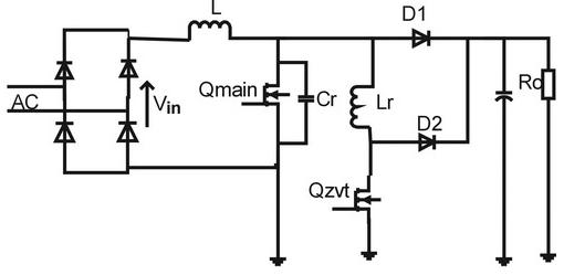 升压ZVT-PWM转换器的工作原理及应用设计实现方案