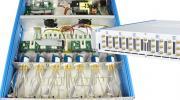基于工业标准尝齿滨/以太网接口的紧凑型机架安装的多路复用器