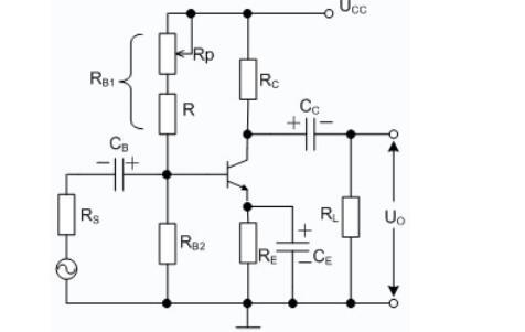 单极晶体管共射放大电路