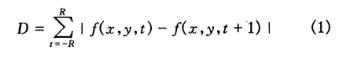 基于模型的鏡頭邊界檢測算法的研究分析