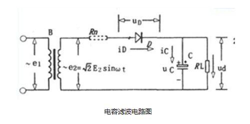 一款电容滤波电路图