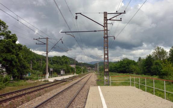 定制型激光对射在某铁路建设工程项目部的应用