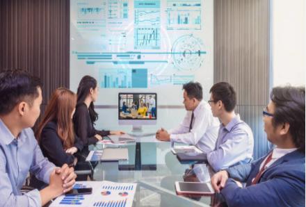 视频会议大香蕉网站设备助力提升办公效率
