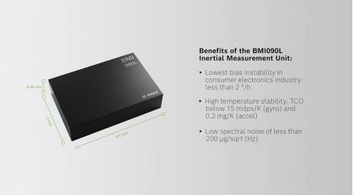 为什么说BMI090L专为工业物联网以及白色家电和家用电器领域而设计?