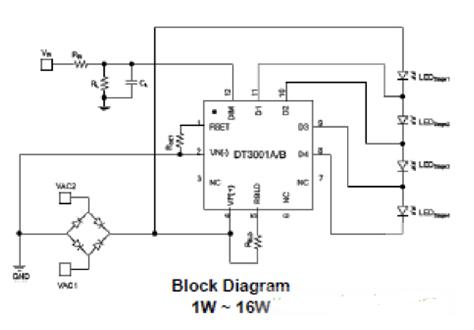 光引擎提高LED燈的穩定可靠性的工作過程