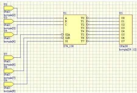 PLD原理图的设计与电路仿真