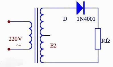 半波整流电压计算_半波整流电路