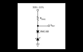 齐纳二极管的电压参考设计和实现