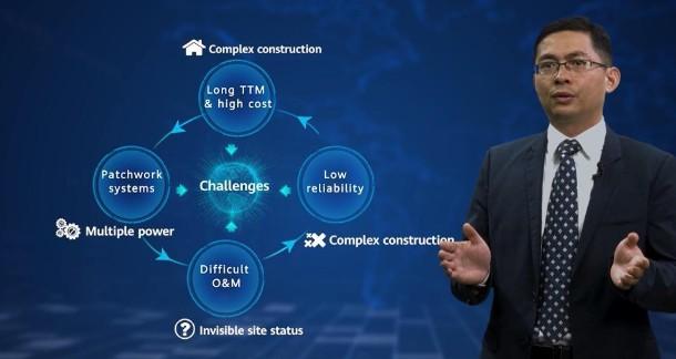 华为数字一体化站点助力全国免机房建设快速部署