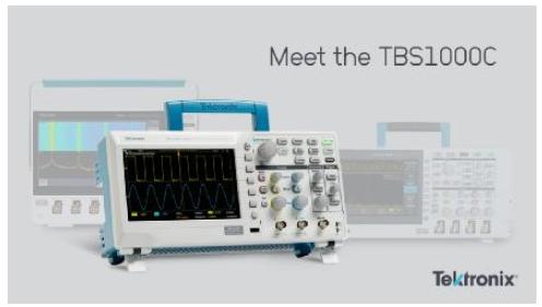 泰克推出全新TBS1000C數字存儲示波器,為快速實踐教學和簡便操作而設計