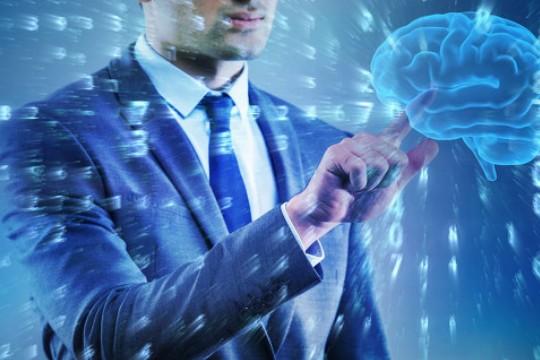 """人工智能技术使智能机器能够""""思考""""只有人类才能做到的方式行动"""