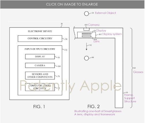 蘋果申請兩項混合現實眼鏡專利,可切換AR/VR模式
