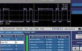 如何选择实时示波器进行抖动测试和分析,有哪些关键...