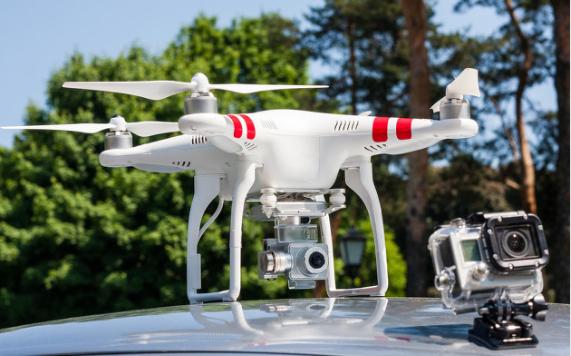 未来高科技无人机在公共安全领域的应用将会成为一种...