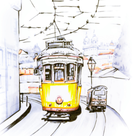 全球首列由光电磁数字化导向的胶轮低地板列车正式发...
