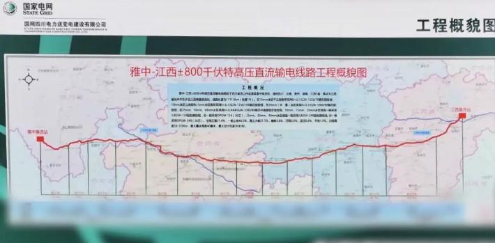 """雅中-江西项目将是国内最容量大的""""国际领先""""电力通信工程"""