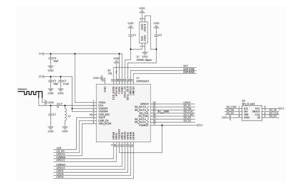 ATK-ESP-01 WiFi模块的数据手册免费下载