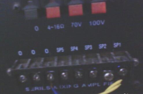 定压功放接线图解_定压功放最远能传输多少米