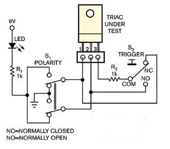 双向可控硅测试仪的使用和问题解决方法