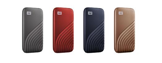 西数推出容量高达2TB的新款My Passport 随行SSD版