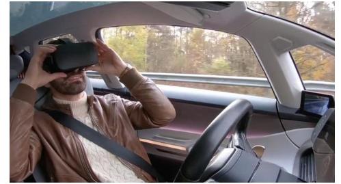 Apple Car防晕车的车载AR系统 检测车门周围障碍物避免安全隐患