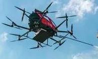 亿航216F消防无人机专为高层建筑消防设计