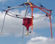 八旋翼无人机AeroSeeder加快作物播种速度
