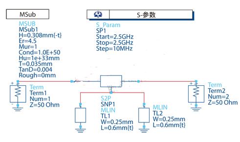基于FR4板材和ATF-551M4實現低噪聲放大...