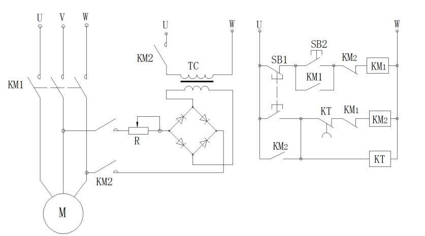 能耗制动控制原理和电路设置