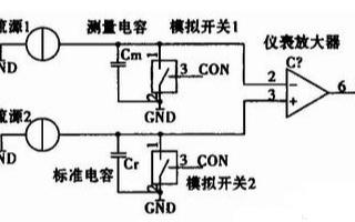 采用單片機和少數芯片實現微小電容測量電路的設計