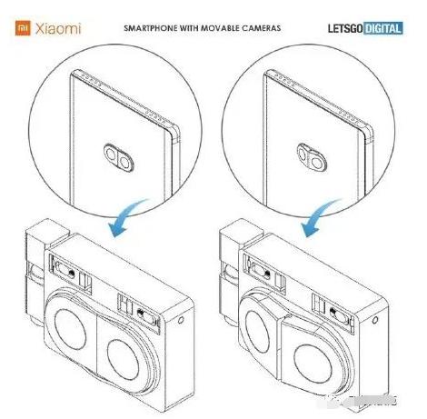 爆小米相机新专利,手机防畸变相机可自动移位拍摄广...
