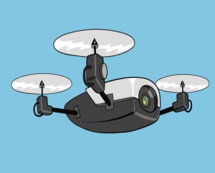 室内无人机自主发展需要有自我意识和更好的稳定系统