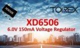 符合AEC-Q100(Grade2)标准, 0.8uA(TYP.)超低功耗稳压器