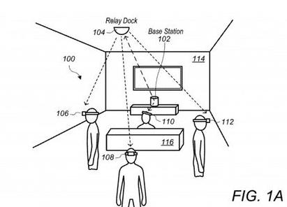蘋果新專利曝光,虛擬現實眼鏡將采用無線基站增強性能