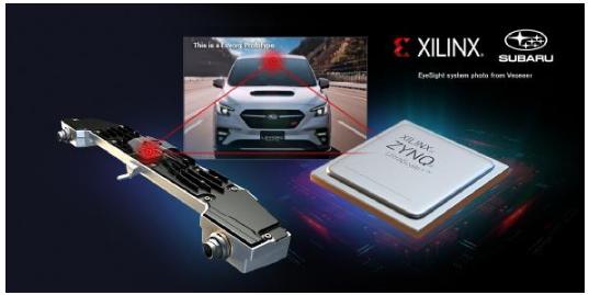 Xilinx助力斯巴鲁实现新一代 EyeSight 系统