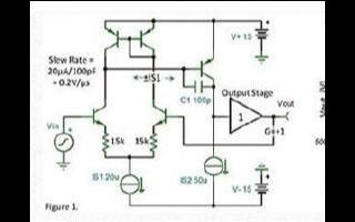 運放輸入級電路中的壓擺率的產生和影響分析