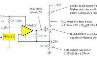 如何使用一些簡單的運算放大器電路進行各類電流源的設計
